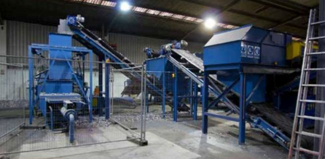 Aluminum Recycling Line