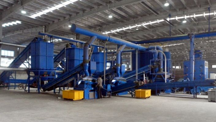 Cable Recycling Line 2